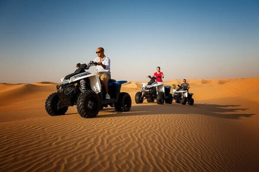 Dubai Desert Safari with Quad Biking in 250 AED only | Al Nahdi Travels