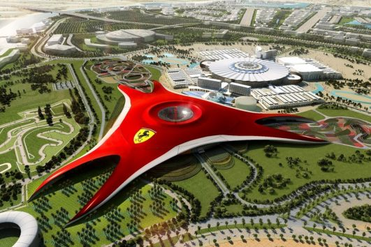 Dubai Ferrari World Theme Park