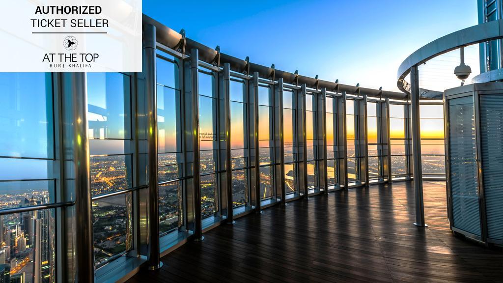 Dubai Burj Khalifa Tour - At The Top