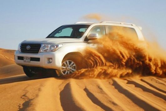 dubai desert safari excursions with bbq dinner and belly dance | Al Nahdi Travels And Tourism