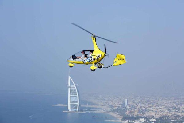 Gyrocopter Flight Dubai - Al Nahdi