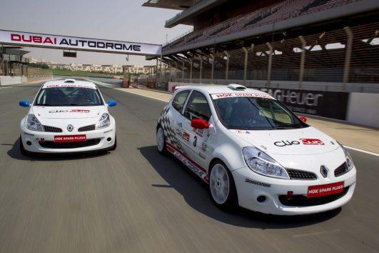 Dubai Clio Cup Race Car Experience