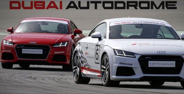 Dubai Audi TT Racing Car Track Taster